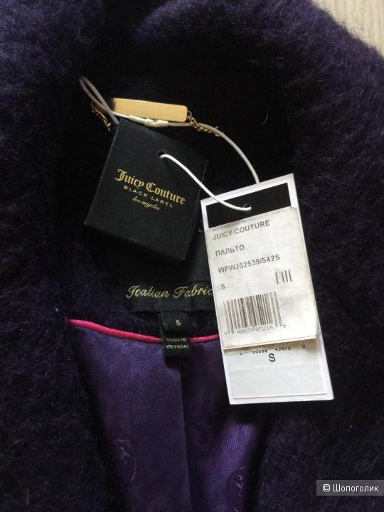 Однобортное пальто Juicy Couture Black Label размер S