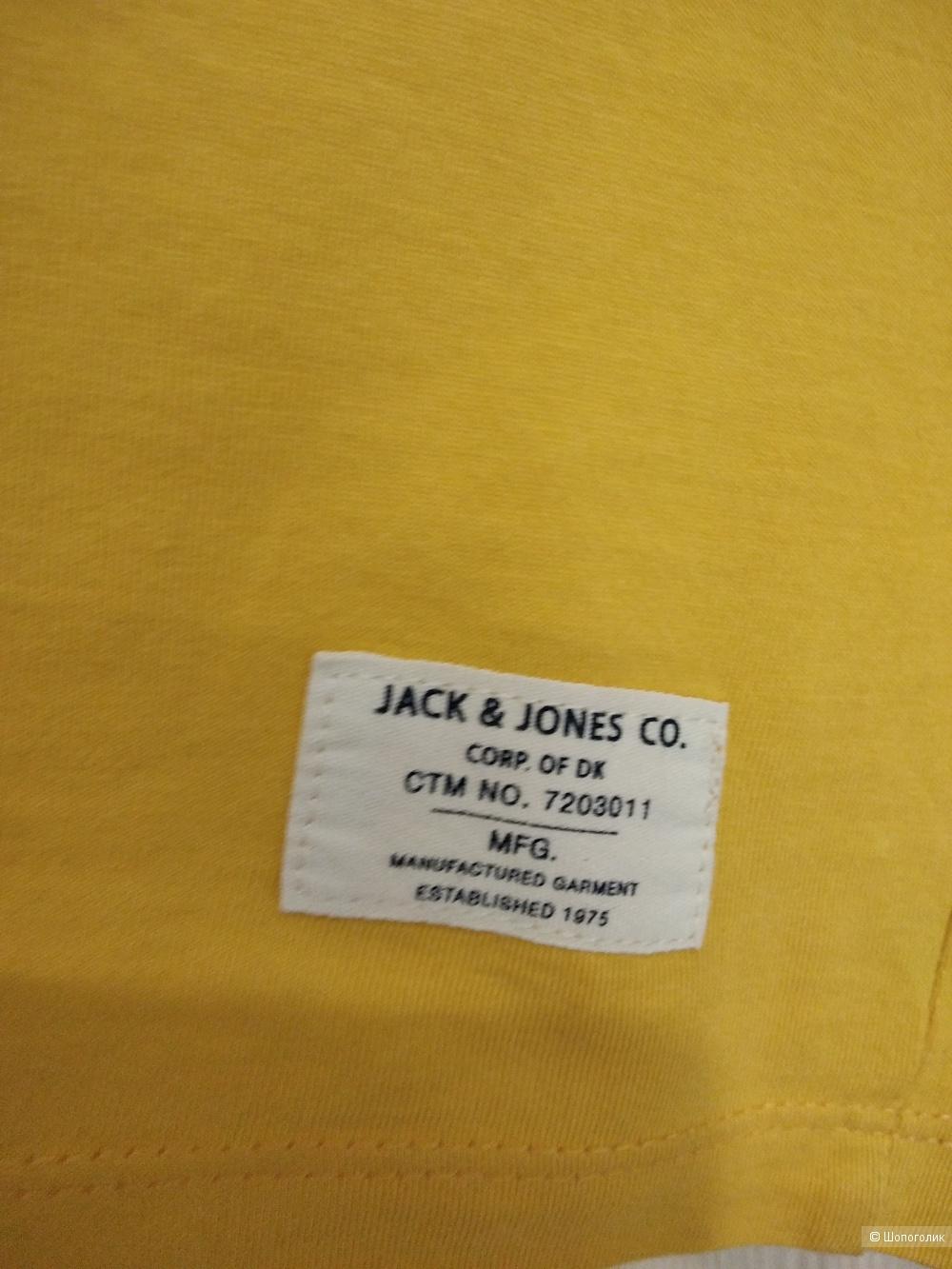 Футболка JACK & JONES,размер 46-48.