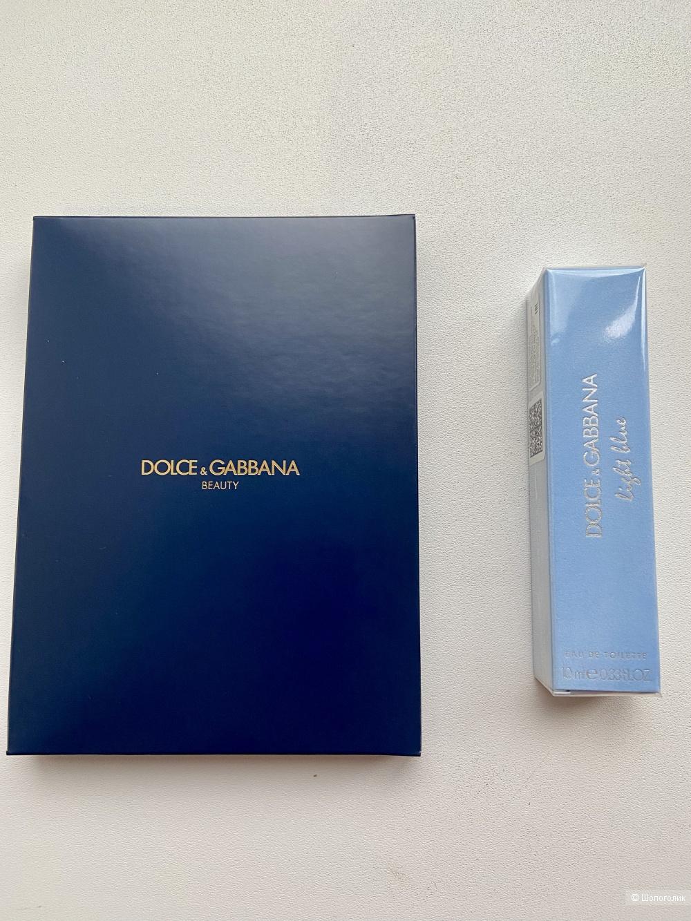 "Туалетная вода ""Light Blue"" Dolce & Gabbana с комплиментом"