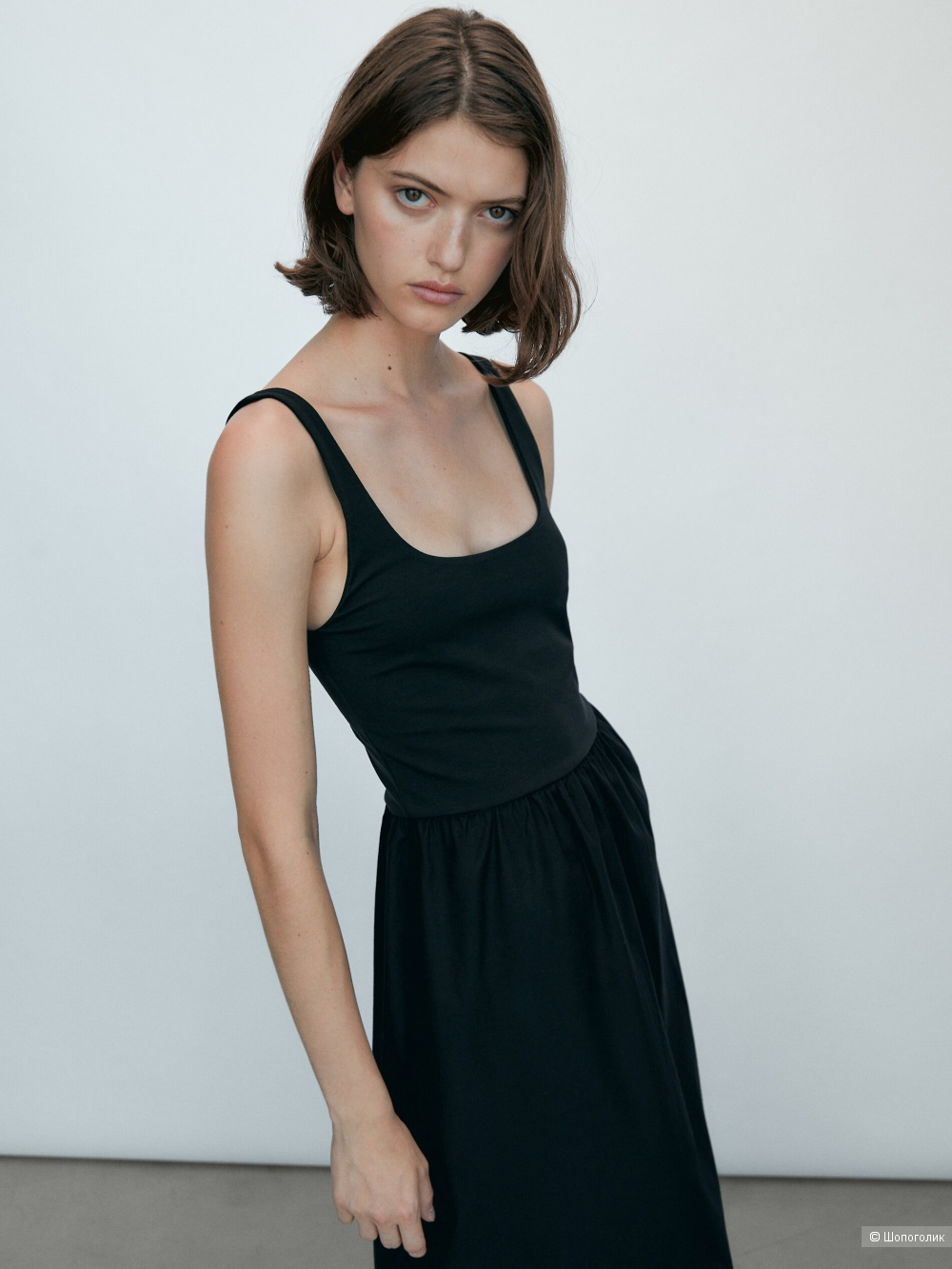 Платье миди ZARA, размер М