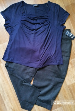 Сет брюки Gerry Weber + футболка saloos размер 48/50