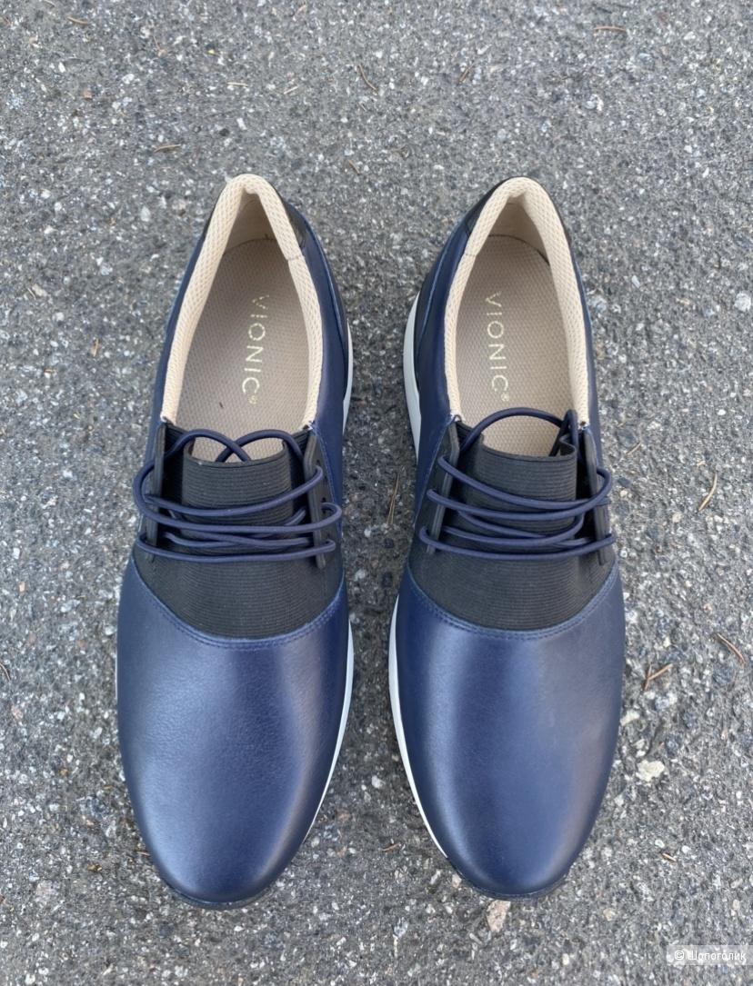 Кожаные кроссовки/ботинки vionic, pp 41,5, 26,5 cm