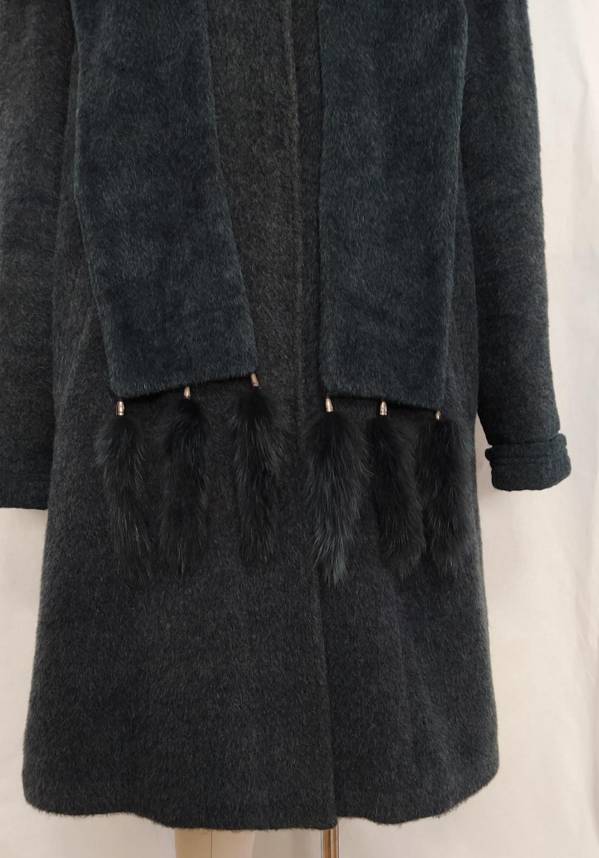 Пальто из ламы , Анжела - М, XXL