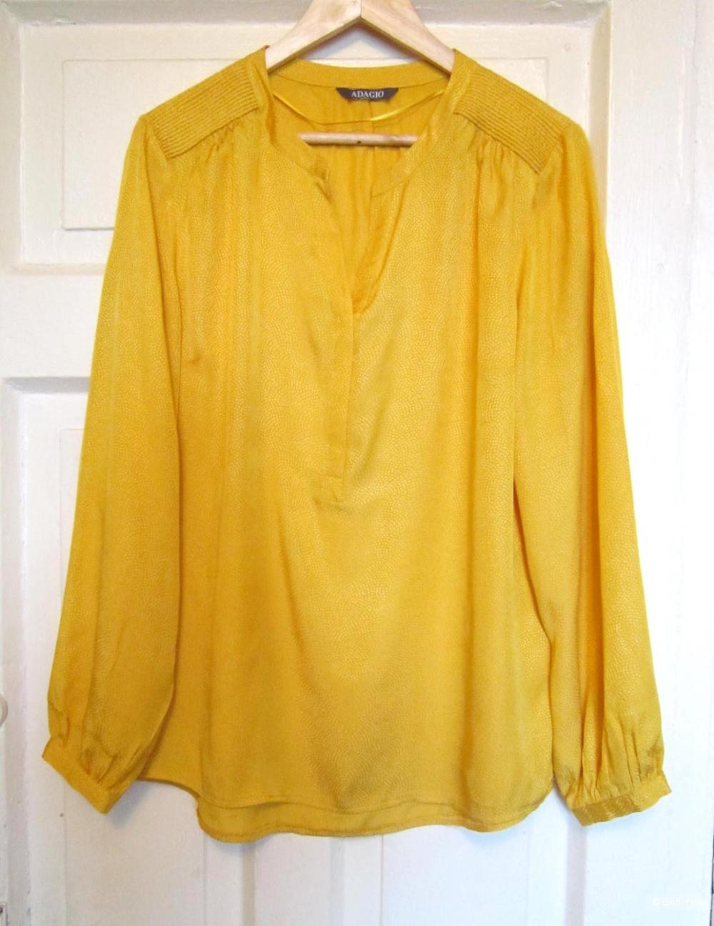 Блуза/ рубашка, Adagio, 48/50 размер, XL.