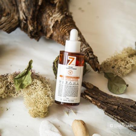 Витаминизированная сыворотка для интенсивного отбеливания и выравнивания тона May Island 7 Days Secret Vita Plus-10 Serum