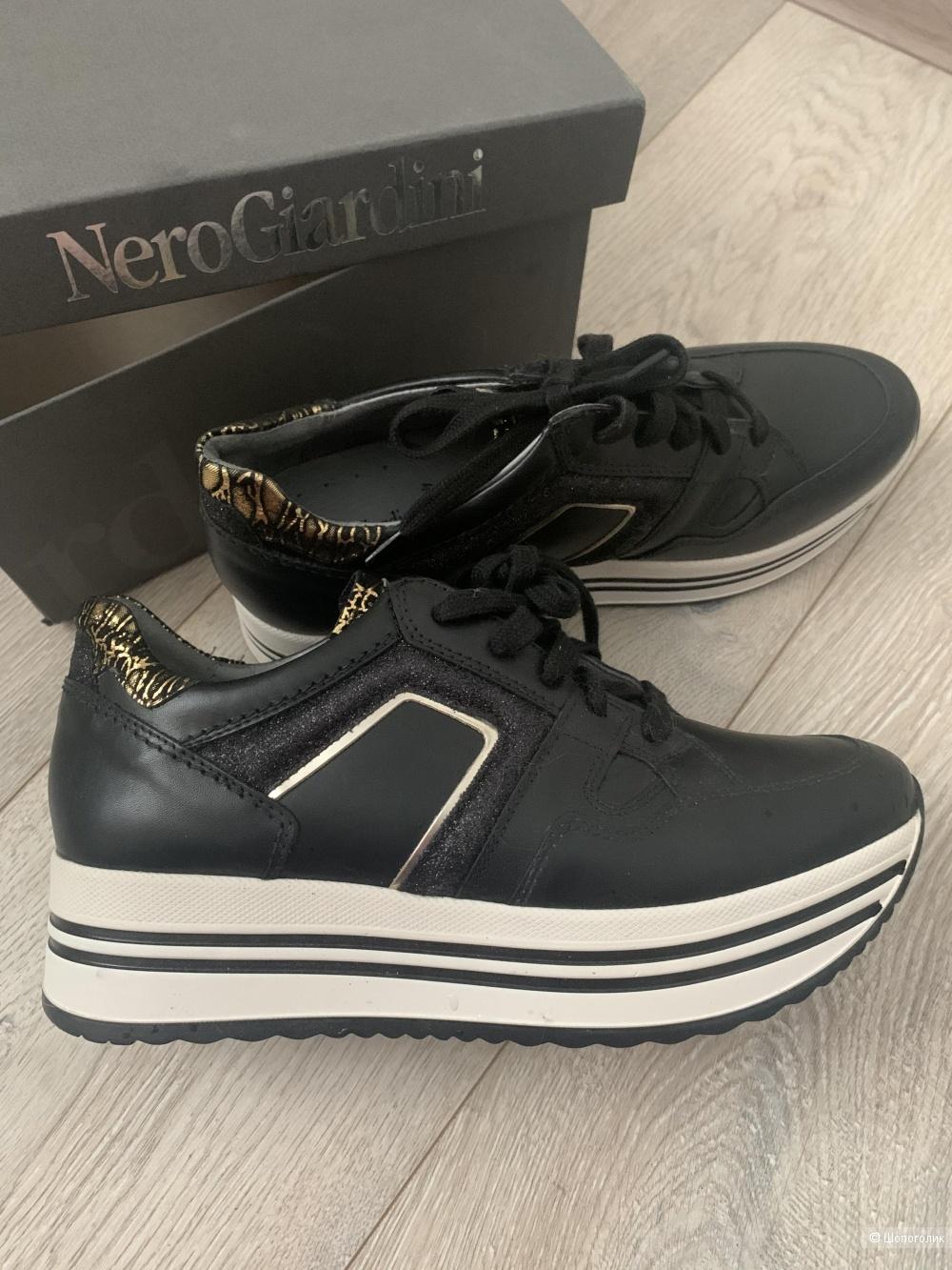 Кроссовки кожаные Nero Giardini 37 размер