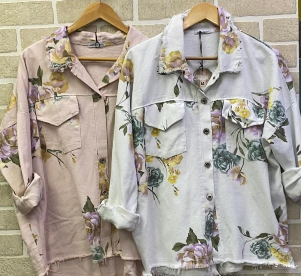 Куртка жакет джинсовая NEST FLOWERS, 42-52