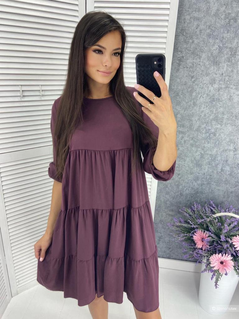Платье ярусное LOVE ITALY,42-48