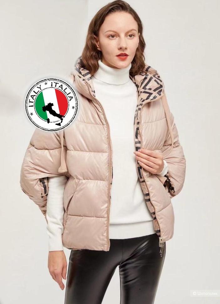 Куртка пончо двусторонняя MONTE CERVINO,oversize