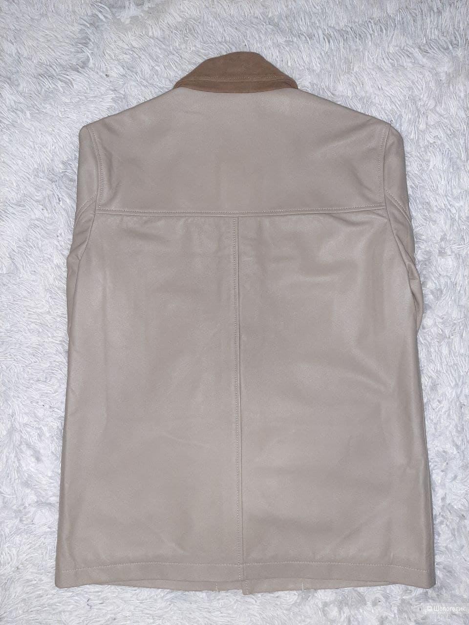 Кожаная куртка ASOS р. S