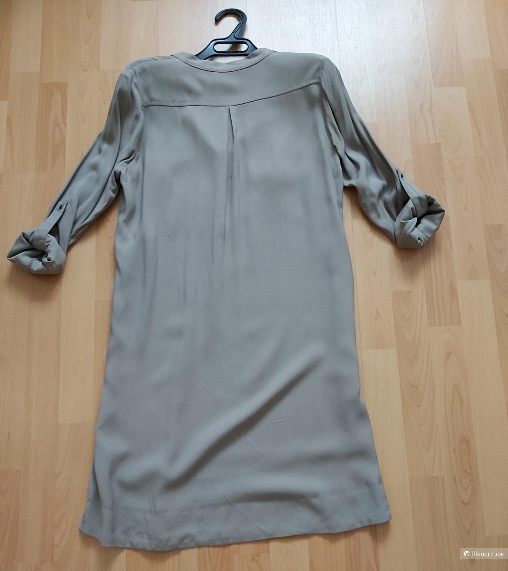 Платье-рубашка Violeta by Mango, 46-48 размер