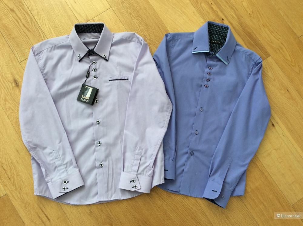 Сет из двух рубашек Platin для мальчика на рост 130-140 см