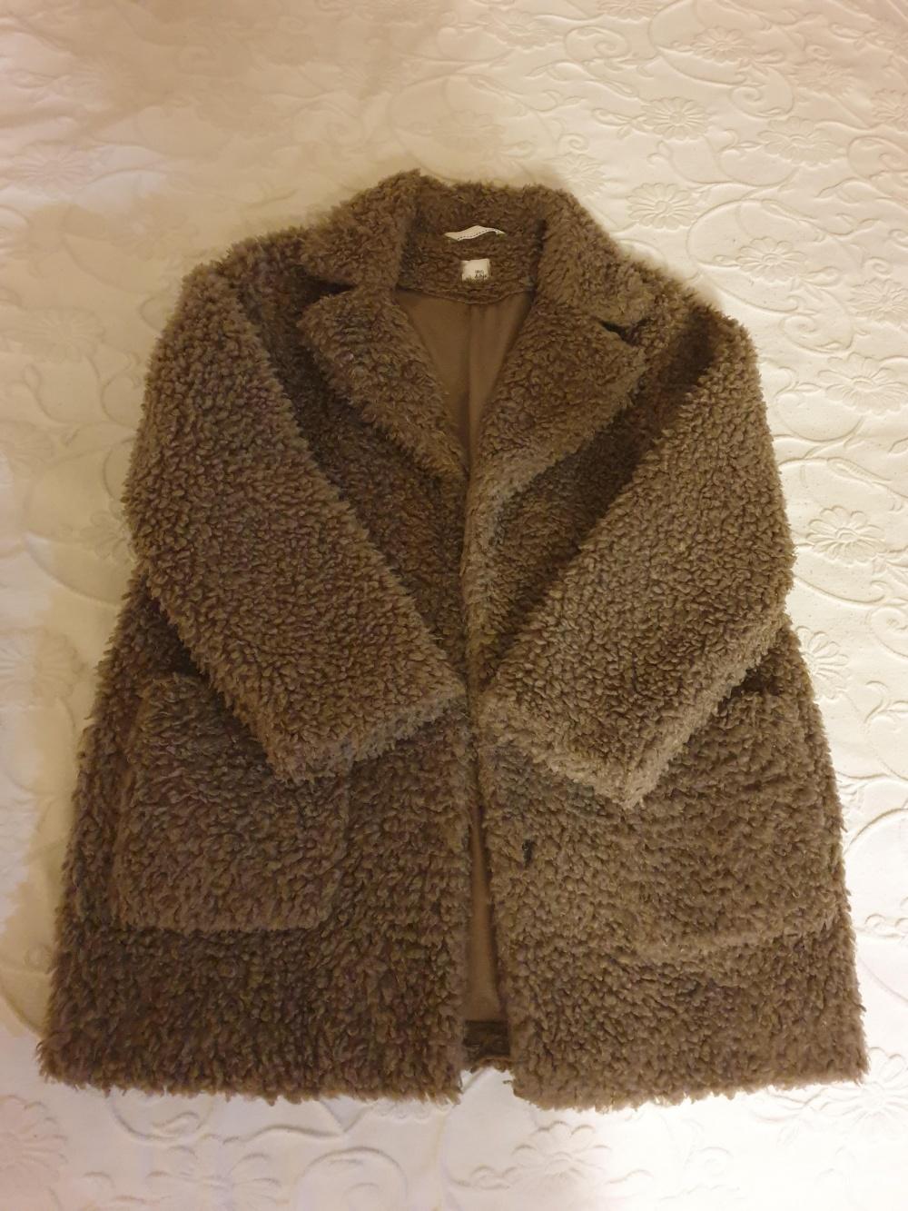Пальто из искусственного меха IRIS&INK,  10 UK размер