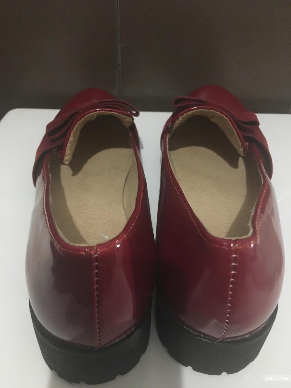 Туфли-лоферы, no name, 37 размер