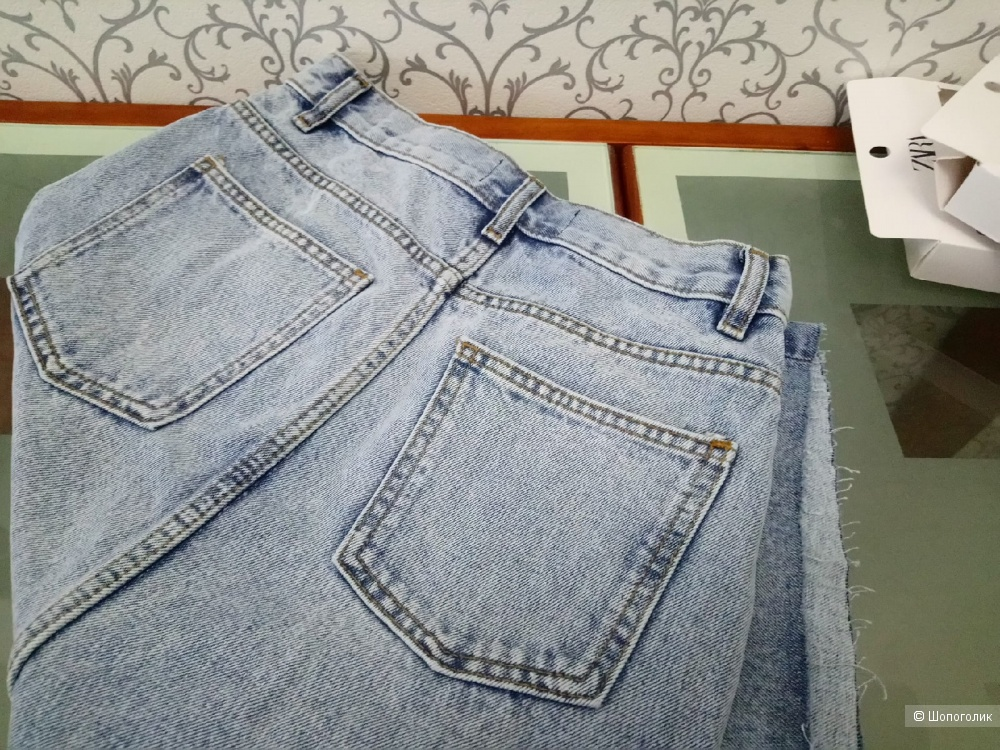 Джинсовая юбка миди манго COMMITTED, размер S