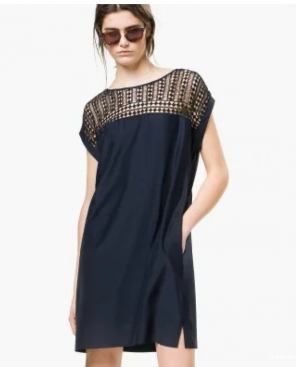 Платье шелковое Massimo Dutti, XS