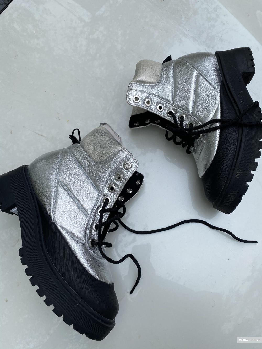 Ботинки Zara, pp 37, 24 см