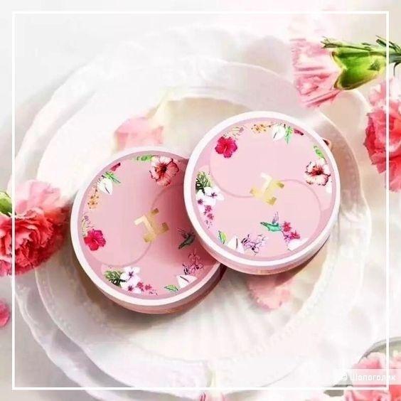Гидрогелевые патчи с цветами гибискуса Jayjun Cosmetic Roselle Tea Eye Gel Patch