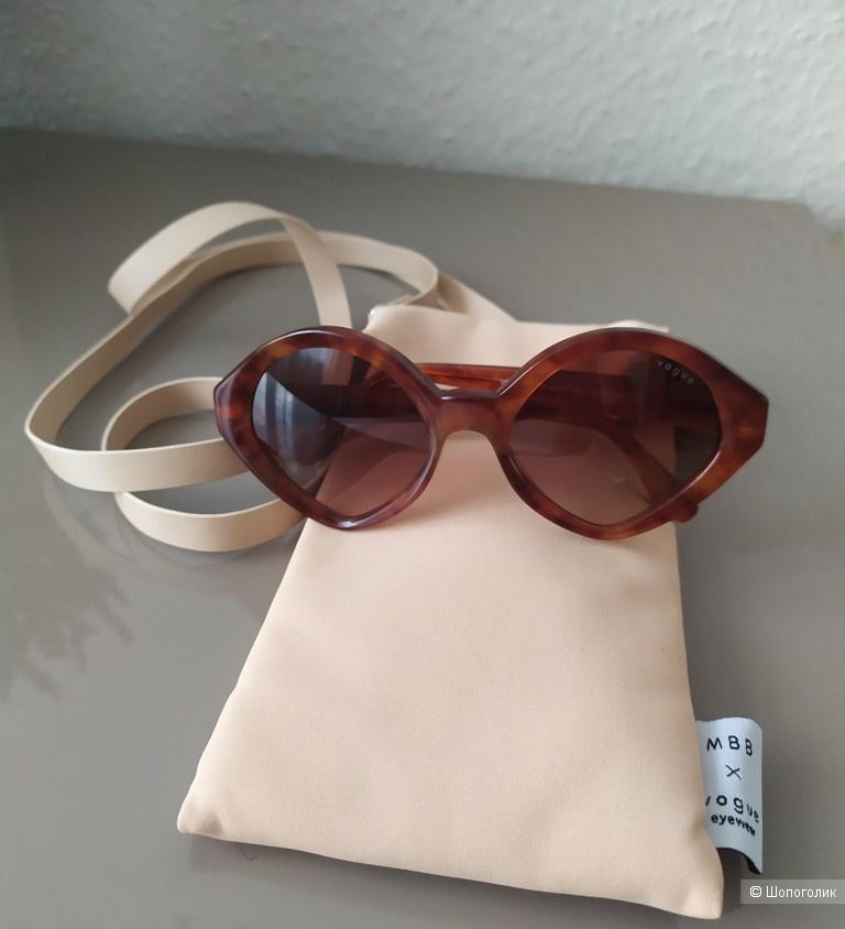 Очки солнцезащитные MBB x Vogue eyewear, one size