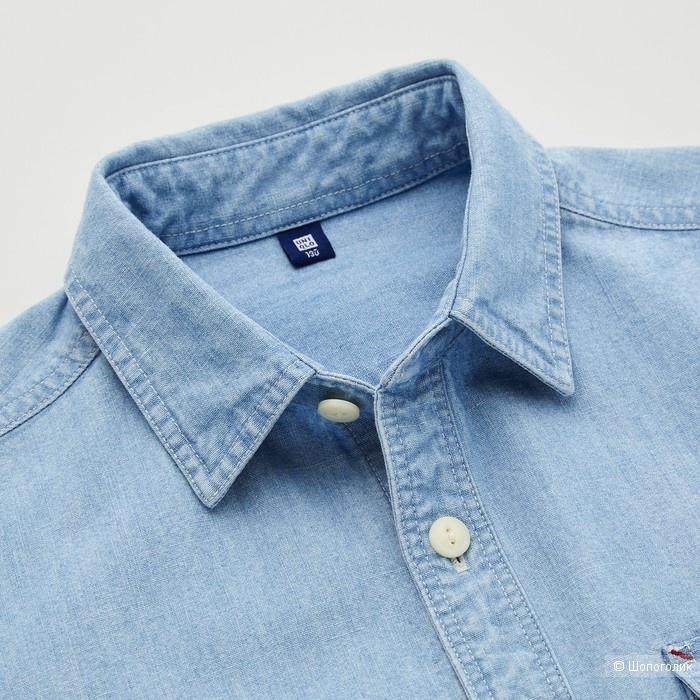 Рубашка Uniqlo размер 10 лет