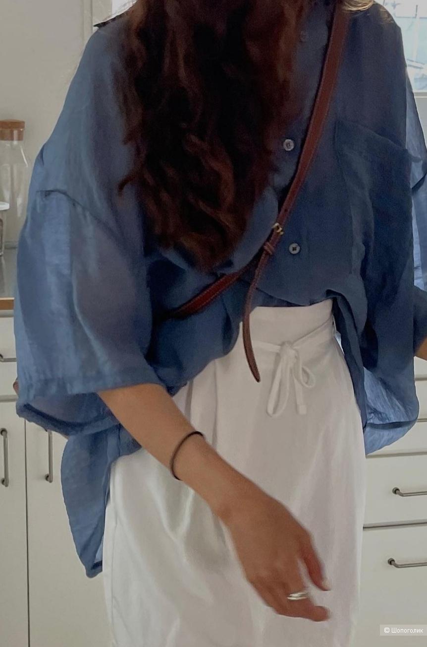 Рубашка sisley, размер m