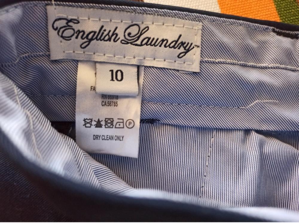 Костюм школьный English Laundry, размер 10( на 6-8 лет)