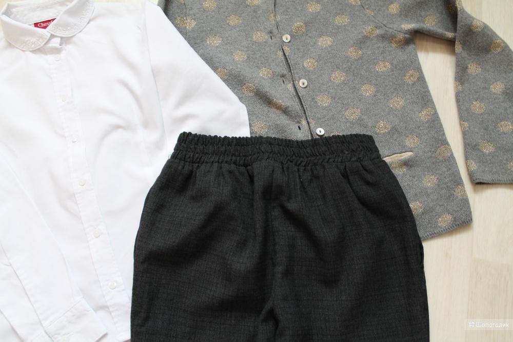 Сетом Chessford брюки, джемпер, рубашка р. 116-122