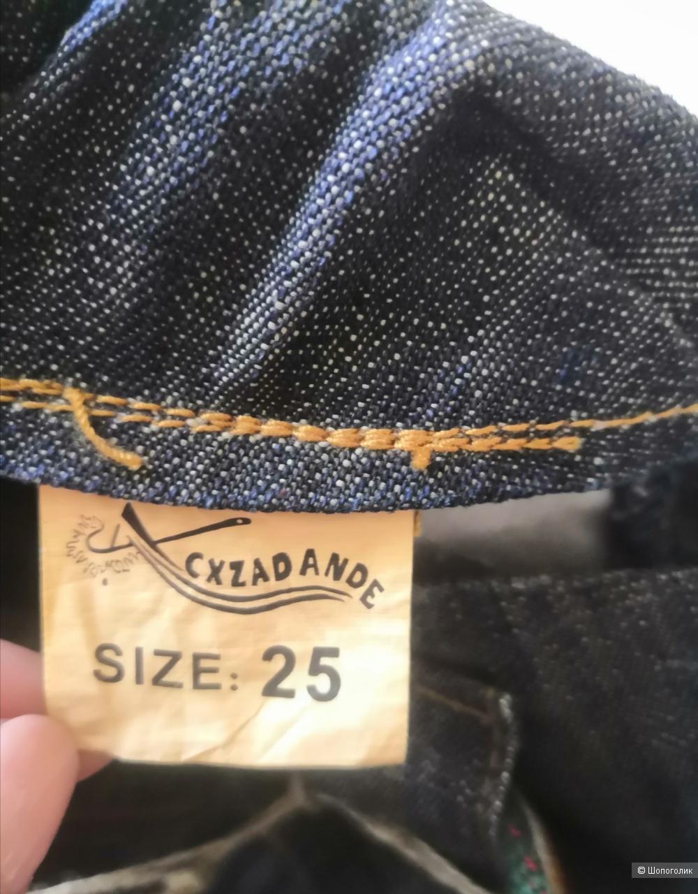Джинсы-палаццо, размер 25