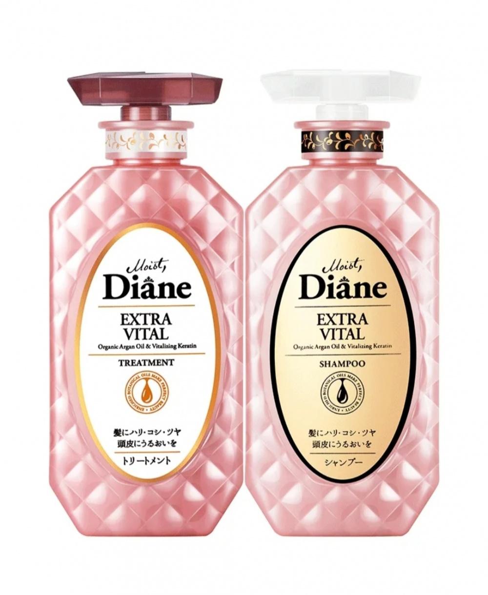Набор для волос Diane Perfect Beauty, уход за кожей головы, 2*450 мл