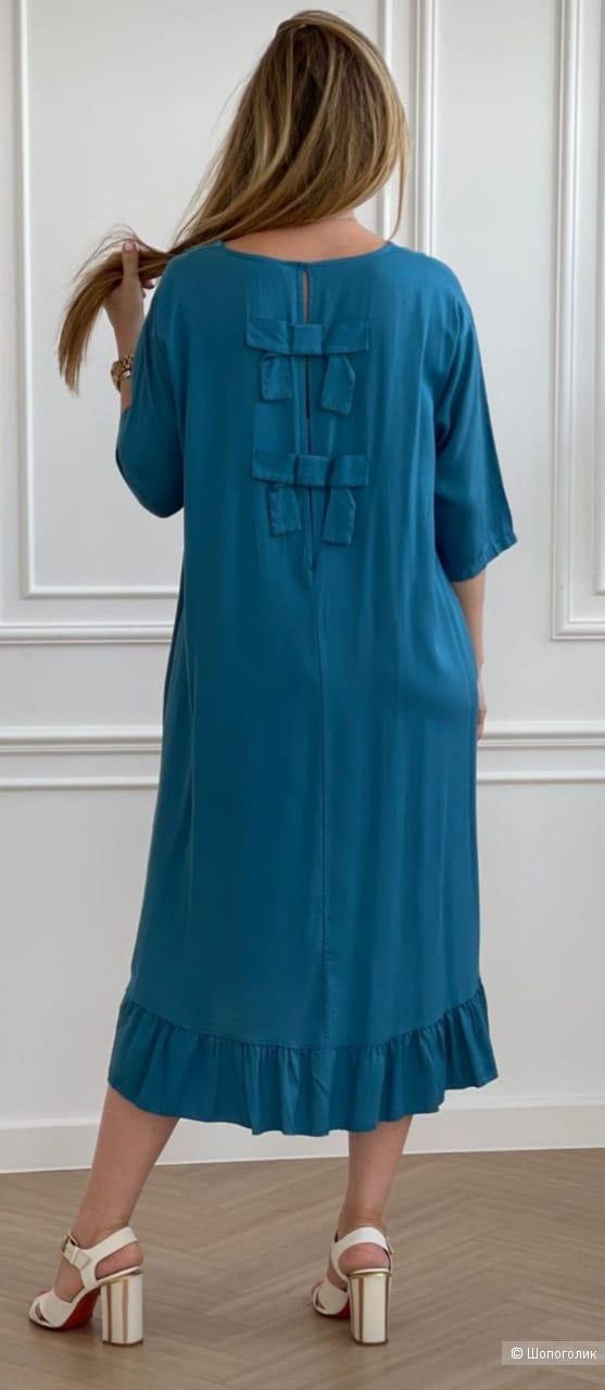 Платье мидииSTELLA MILANI бант,42-52