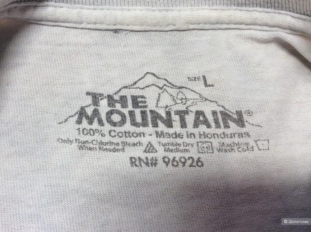 Футболка The Mountain р.L (на 44-46-48)