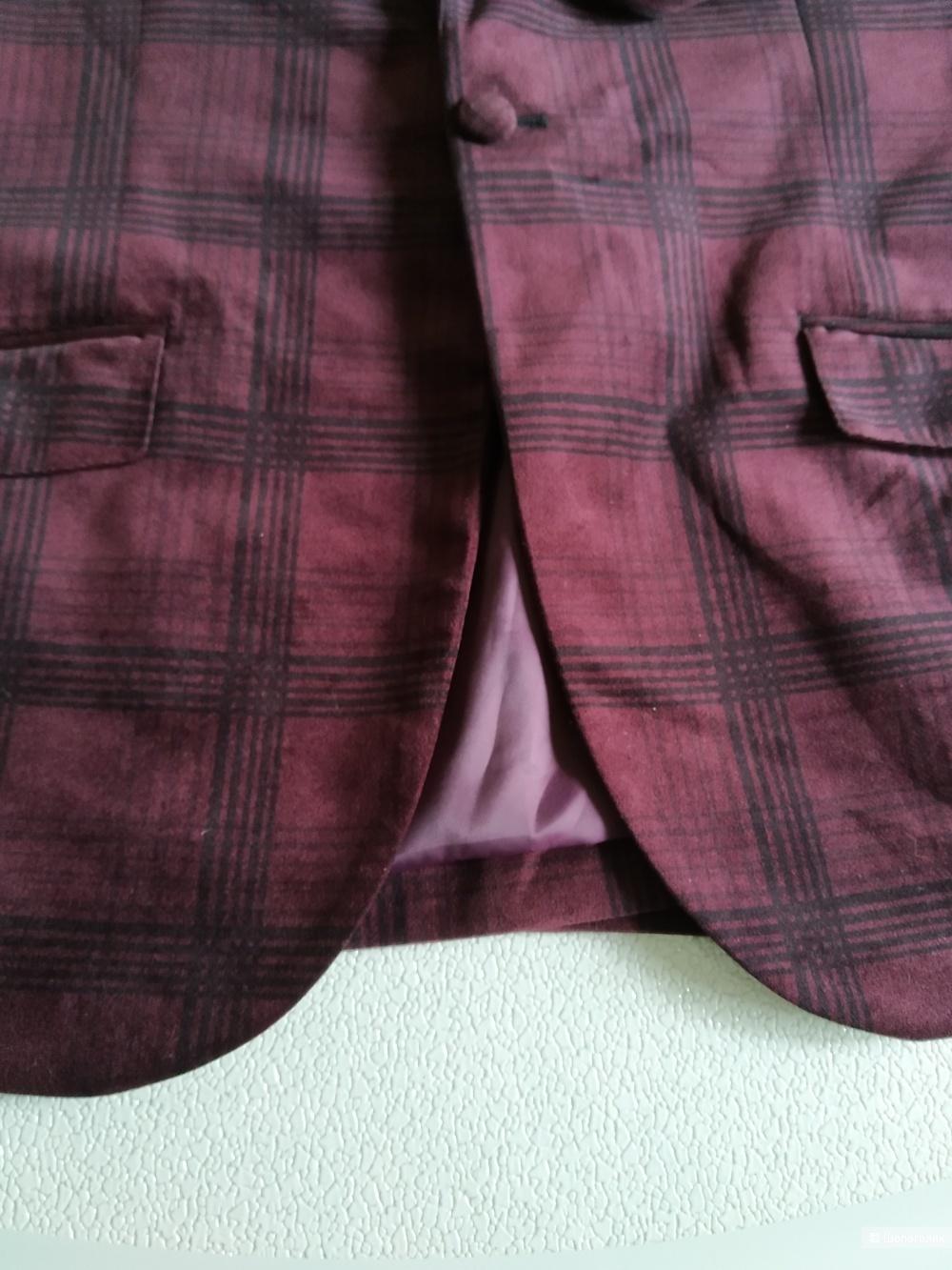 Сет пиджак Angelo Litrico и рубашка Nobel league размер 52/54