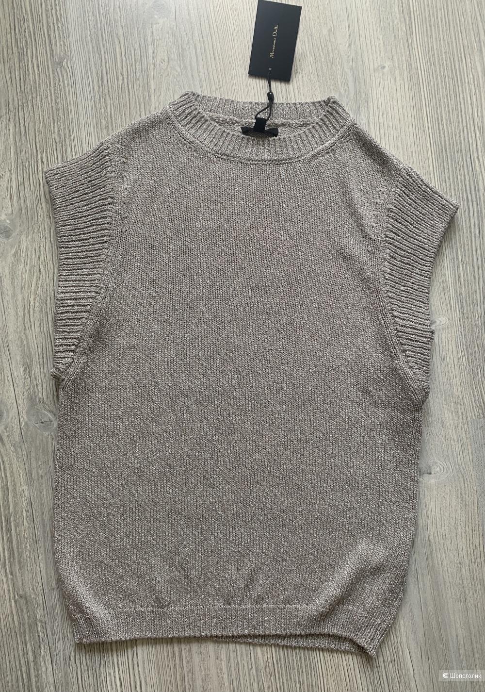 Пуловер без рукавов Massimo Dutti, р.XS