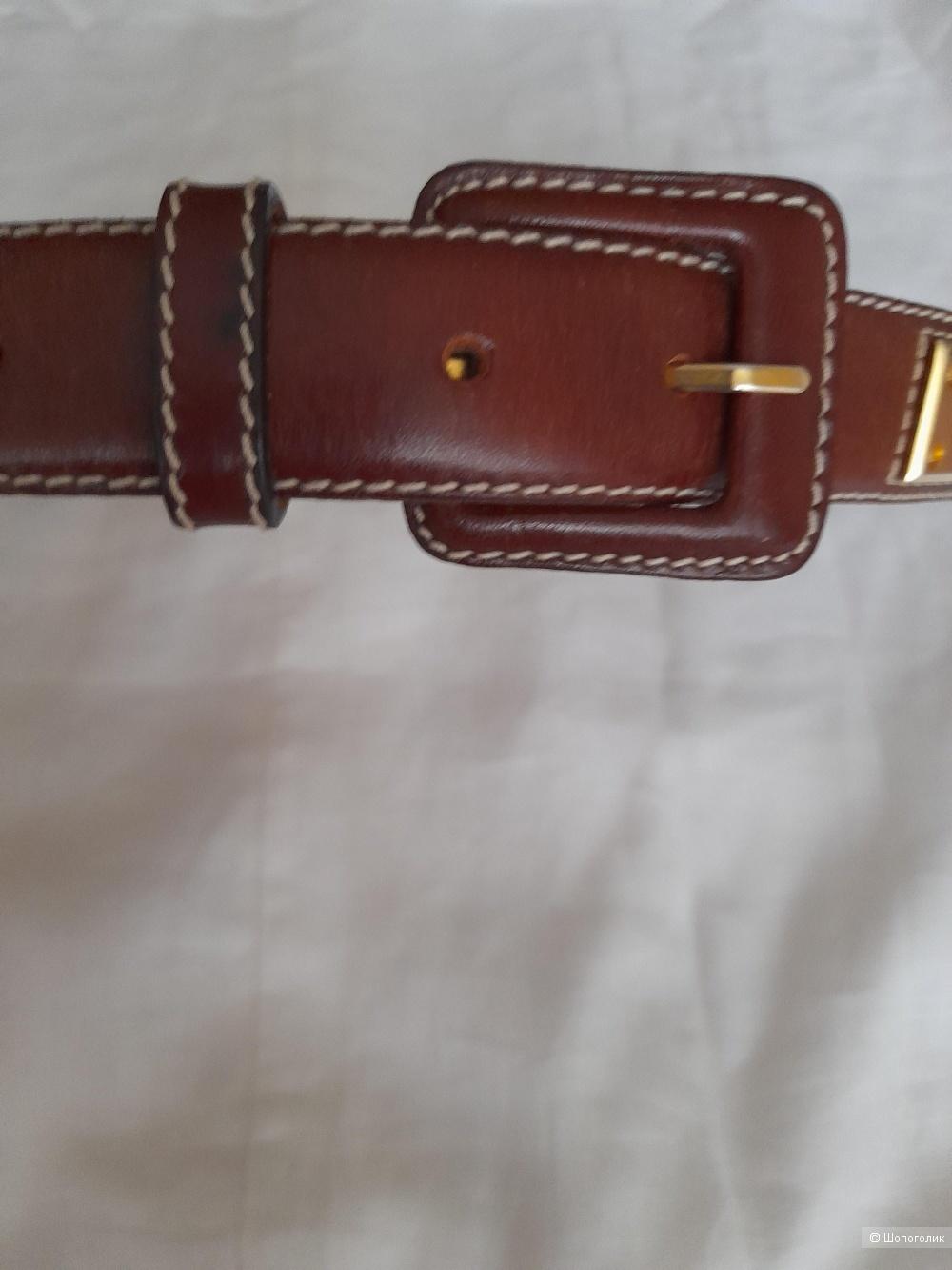 Ремень кожаный ALAIN MANOUKIAN размер 75