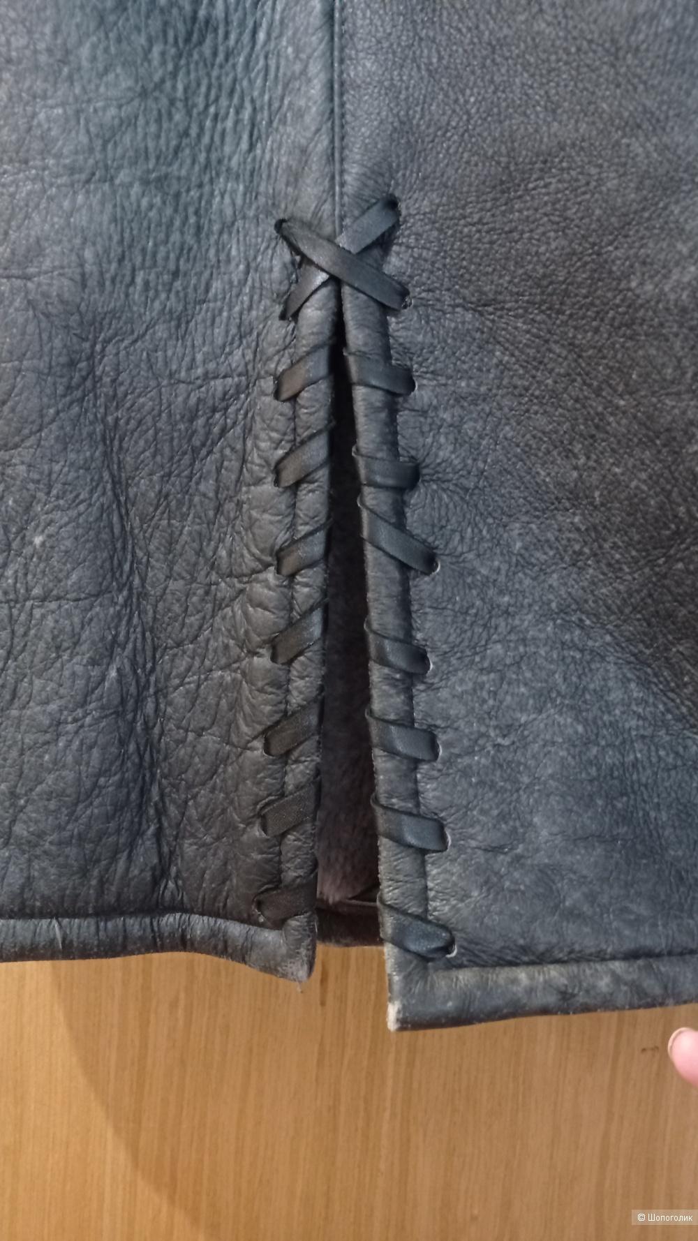 Besikler дубленка 44 размер