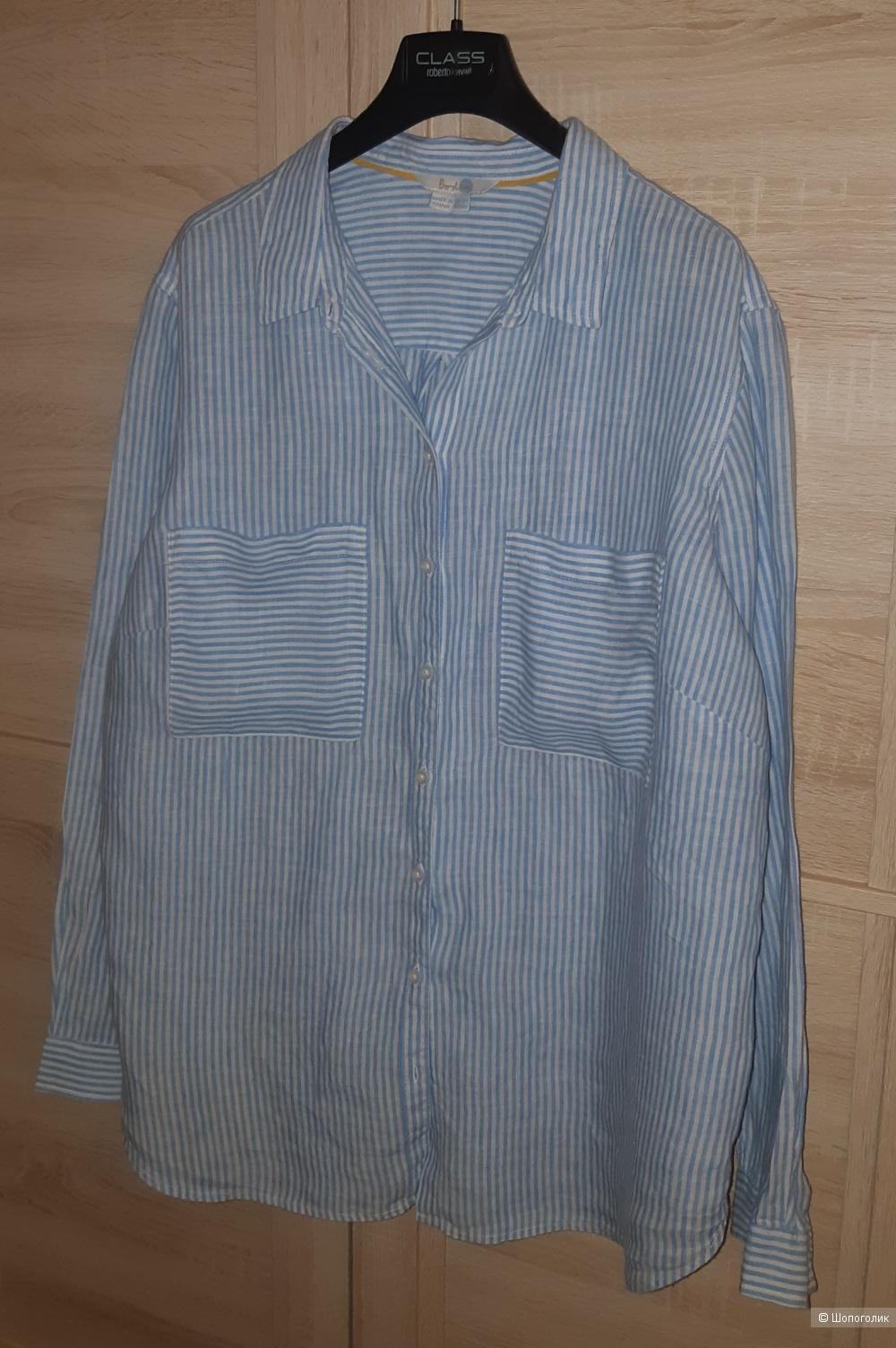 Льняная рубашка boden, размер l/xl
