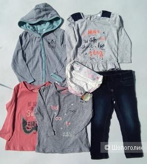 Сет одежды lupilu looney tunes 86-92 cm
