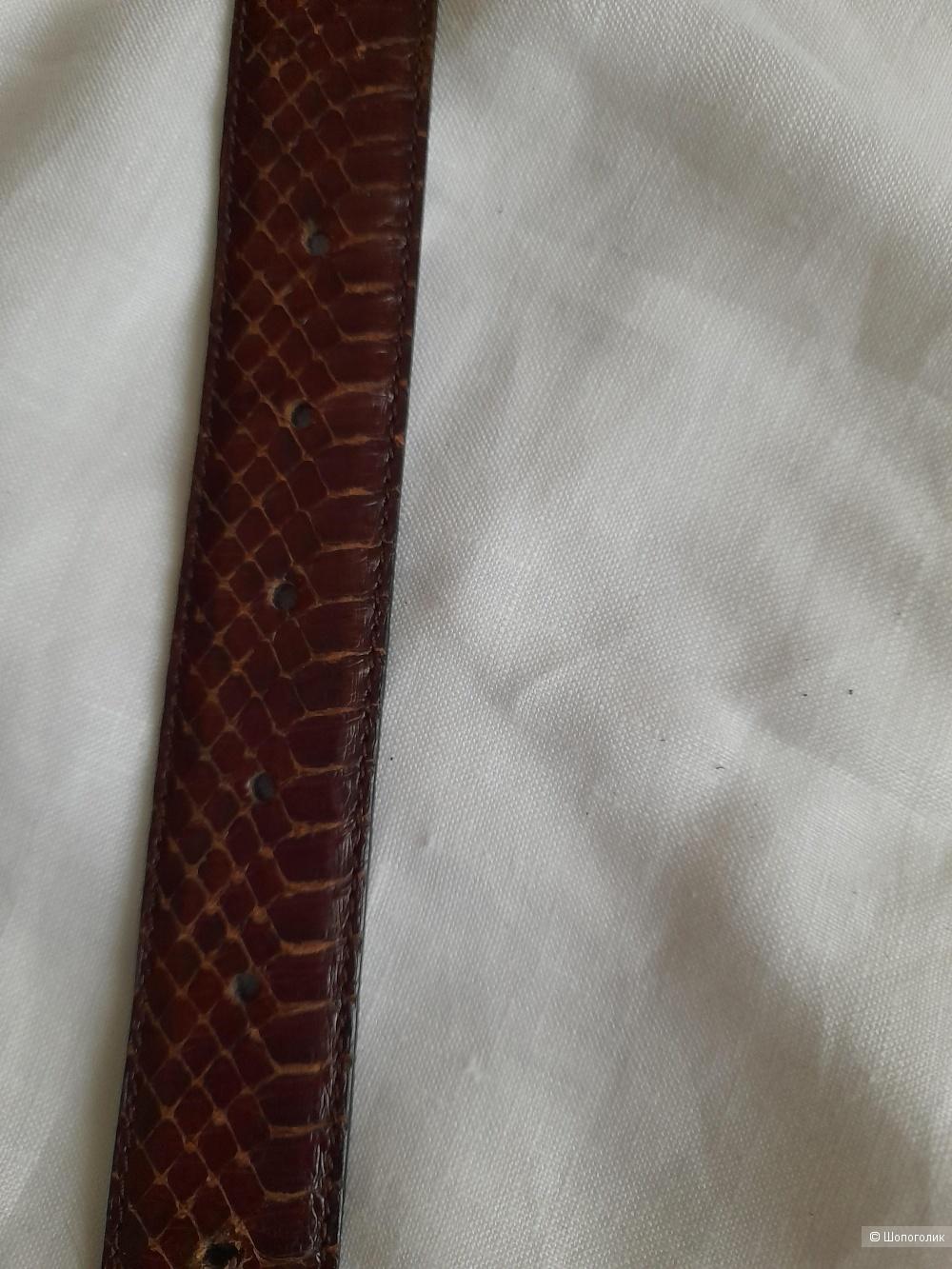 Ремень кожаный  VERO RETTUE размер 75