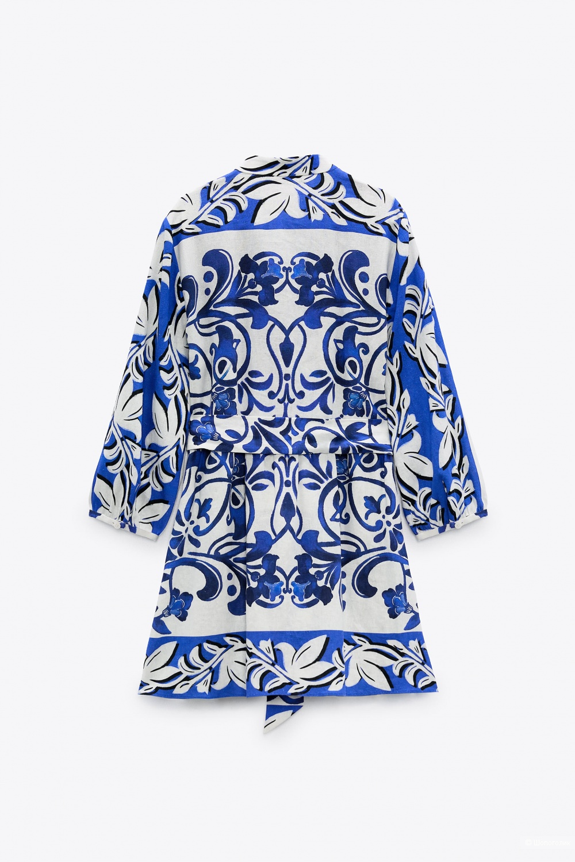 Платье-рубашка Zara размер S