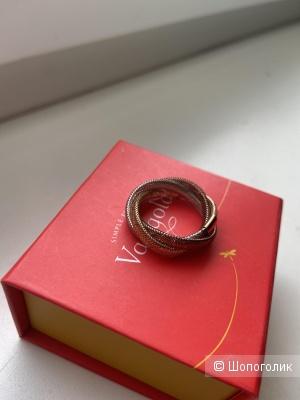 Кольцо золотое vangold 17.5