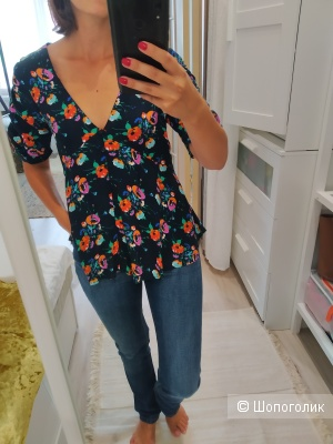 Блуза, ZARA, 42-44 размер