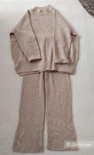 Трикотажный костюм H&M, р-р S-M