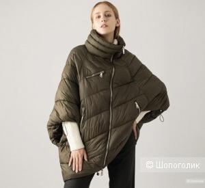 Пуховик куртка пончо Fly Italy,oversize