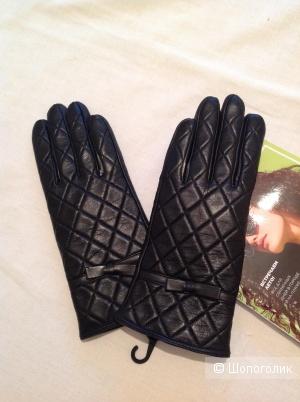 Кожаные перчатки , размер M-L