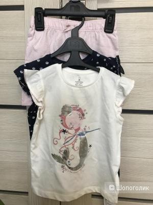 Набор Пижам для девочки, 104 размер