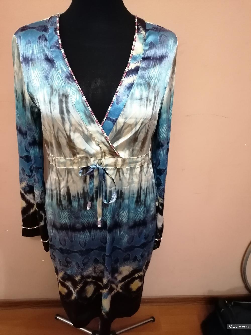 Шёлковое платье Joyce&girls размер L