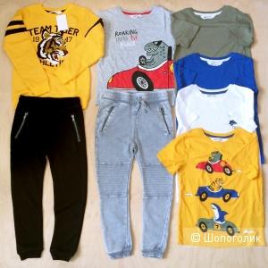 Комплект одежды на мальчика размер 122