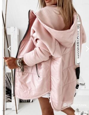 Куртка комбинированная MANILLA  oversize