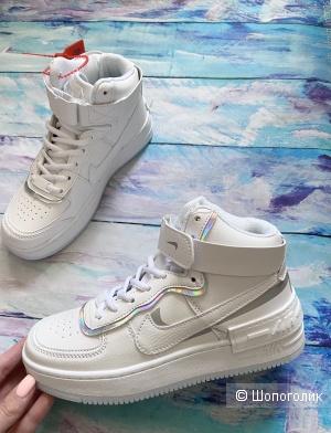 Женские высокие кроссовки Nike р.36-41