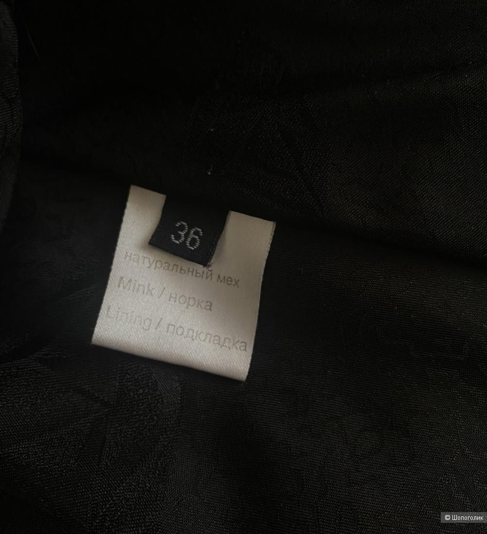 Норковая шуба Vintego, размер S.